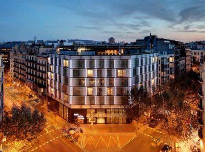 Tagungshotel: OLIVIA BALMES HOTEL, 4 Sterne, 128 Zimmer und 5 Tagungsräume, Barcelona