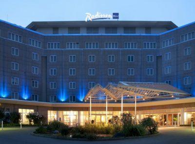 Tagungshotels in Dortmund. Hier das Radisson Blu, 4,5 Sterne, 190 Zimmer und 15 Tagungsräume